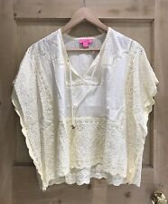 MONSOON Lace Top SIZE 8 Ivory Coverup BNWOT
