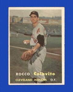 1957 Topps Set Break #212 Rocky Colavito VG-VGEX *GMCARDS*