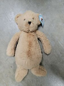 Jellycat London Medium Bashful Honey Bear Floppy Super Soft Plush Stuffed