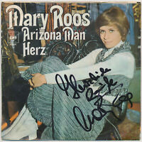 "MARY ROOS - Arizona Man - 7"" Single - Coverhülle SIGNIERT"