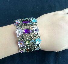 new Fashion Hot-Selling Lovely bronze Flower Acrylic bangles Bracelet for women