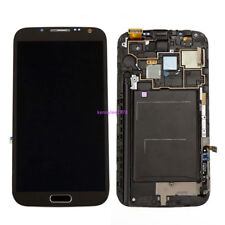 For Samsung Galaxy Note 2 N7100 LCD Display Touch screen+Rahmen grau+cover+tool