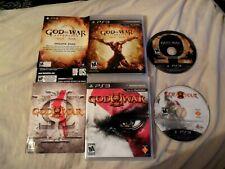 God of War Ascension + GOD OF WAR III 3 Playstation 3, PS3 COMPLETE WORKS