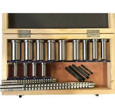 22pcs Hss Metric Keyway Broach Cutter B C Push Type Cutting Tool Metalworking