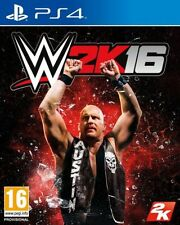 WWE 2k16 (ps4) WRESTLING-OTTIMO - 1st Class consegna