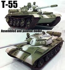 USSR army T-55 Russian tank 1:72 finished Easy Model