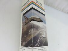 """Environmental Graphics SPACE SHUTTLE Visual Effects Wall Mural 8"""" x 13' Vintage"""