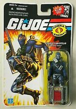 2008 Hasbro Gi Joe 25th Cobra Saboteur Firefly Action Figure