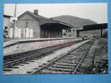 PHOTO  BARGOED RAILWAY STATION  21/5/84  RHYMNEY RAILWAY