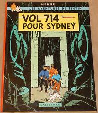 TINTIN - 22 - / Vol 714 pour Sydney / EO B37 1968 / TBE-
