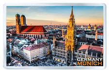 MUNICH GERMANY MOD3 FRIDGE MAGNET SOUVENIR IMAN NEVERA