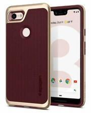 Google Pixel 3 XL Case, Spigen Neo Hybrid Shockproof Protective Cover - Burgundy