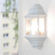 Große Wandleuchte weiß-graumatt inkl. heller 12W LED Alu Wandlampe Leuchte Wand