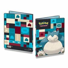 Snorlax Design 9-Pocket Portfolio for Pokemon Cards by Ultra Pro