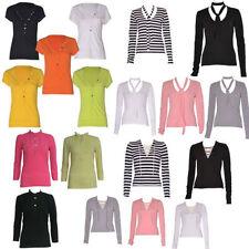 Cotton V Neck Regular Size T-Shirts for Women