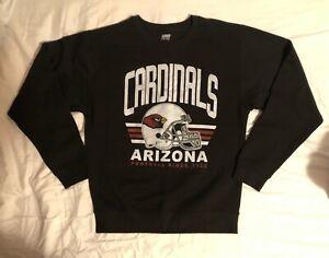 "Arizona Cardinals Black Medium ""Junk Food Brand"" Sweater New"