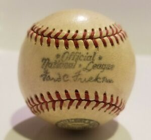 Vintage Ford C. Frick Spalding Mini Baseball Promotional Amazing Condition Rare