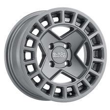 14 inch 14x7 Black Rhino York Utv Matte Gunmetal wheel rim 4x110 +10
