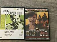Gary Cooper and Lee Van Cleef DVD Lot 2 DVDs  God's Gun / Cry Blood Apache