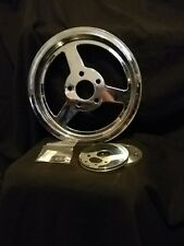 """Rear Drive Pulley 65 Tooth Chrome,for Harley Davidson motorcycles,by V-Twin 1.5"""""""