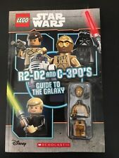 LEGO Star Wars R2-D2 & C-3P0's Guide to the Galaxy Book & Figure NEW Scholastic