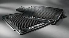 GENUINE LEXUS 2014-up IS250, All Wheel Drive, All Weather Floor Mats, Black