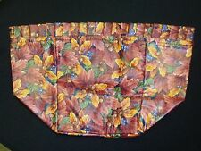 Longaberger Liner, Fall Foliage Fabric, Ote, for the Basket Of Plenty 1995, New!