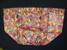 Longaberger LINER, Fall Foliage Fabric, SU, Fits Maple Leaf 1996 Basket, NEW!!