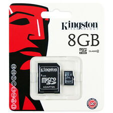 Lot 4 Kingston 8GB Class4 Micro SD Micro SDHC (=32GB) TF T-Flash Memory Card