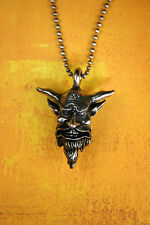 Pewter Belphegor Necklace - Demon Dictionnaire Infernal Prince of Hell Devil