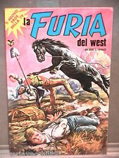 LA FURIA DEL WEST Editrice Cenisio 1977 Lotto di 3 numeri Fumetti Western di e