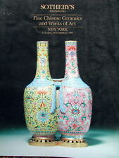 Sotheby's Fine Chinese Ceramics and Works of Art New York,  Nov. 27 1990
