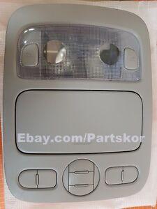 Fit 2006-2012 KIA SEDONA Overhead Light Console Assy Gray W/O sunroof Genuine