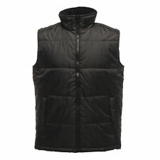 Regatta Classic Mens Body Warmer Insulated Quilted Polyester Work Jacket Tra808 XL Black