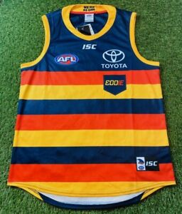 Adelaide Crows AFL 2019 Eddie Betts 300th Game Guernsey Jumper Size: XL BNWT