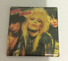 HANOI ROCKS Two Steps From The Move Fridge Magnet Rare Glam Rock Michael Monroe