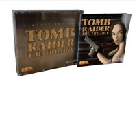 Tomb Raider - The Trilogy - Limited Edition - PC Cd Rom - All 3 Discs