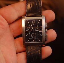 GUCCI quartz chronograph 8600M chrono working condition