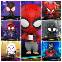 "Hot Toys ""Spider-Man: Into the Spider-Verse"" COSBABY Mini Figure Toy COSB635-641"