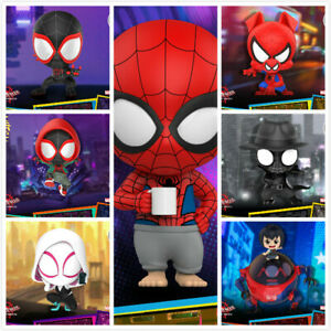 """Hot Toys """"Spider-Man: Into the Spider-Verse"""" COSBABY Mini Figure Toy COSB635-641"""