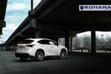 20x9 +35 20x10 +45 Rohana RF2 5x114.3 Titanium Wheels Fit Lexus Nx200t Staggered