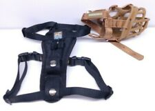 Kurgo Dog Harness and Baskerville Muzzle Bundle, Rarely Used a1