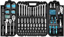 228 Piece Mechanic Tool Set Repair Kit Household Handyman Case Garage SAE Metric