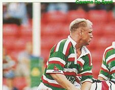 364 NEIL BACK LEICESTER TIGERS 1/4  STICKER PREMIER DIVISION RUGBY 1998 PANINI