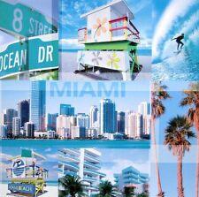Blonde Attitude: Miami Fertig-Bild 30x30 Wandbild USA Florida modern