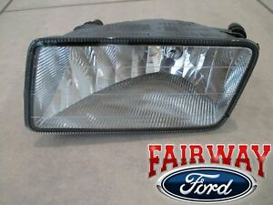 06 thru 10 Mercury Mountaineer OEM Ford Fog Driving Light with Bulb LH Driver