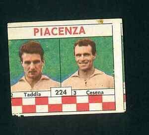 Figurina Calciatori VAV 1961-62! Taddia - Cesena (Piacenza)! n.224 Nuova!!