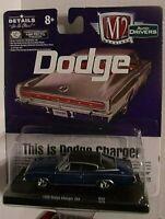 Dodge Charger 383  blau  1966  Limitiert auf 6.800 Stück  M2  1:64  OVP  NEU