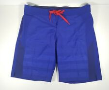 Adidas CrazyTrain Elite Blue Stretch Woven Training Shorts Mens Size 36 Br3717