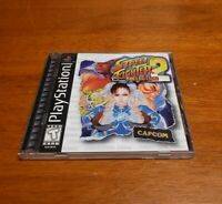 Street Fighter Collection 2 (PlayStation 1) PS1 Complete with Registration Card